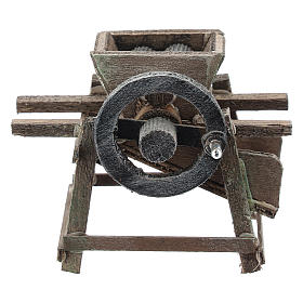 Grape crusher for Neapolitan Nativity Scene of 6-8 cm s1