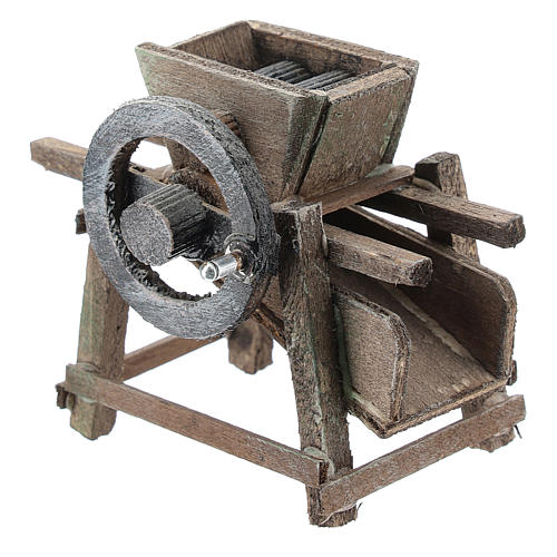 Grape crusher for Neapolitan Nativity Scene of 6-8 cm 2