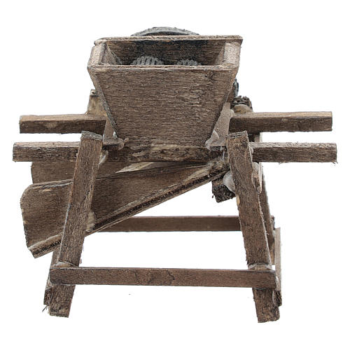 Grape crusher for Neapolitan Nativity Scene of 6-8 cm 4