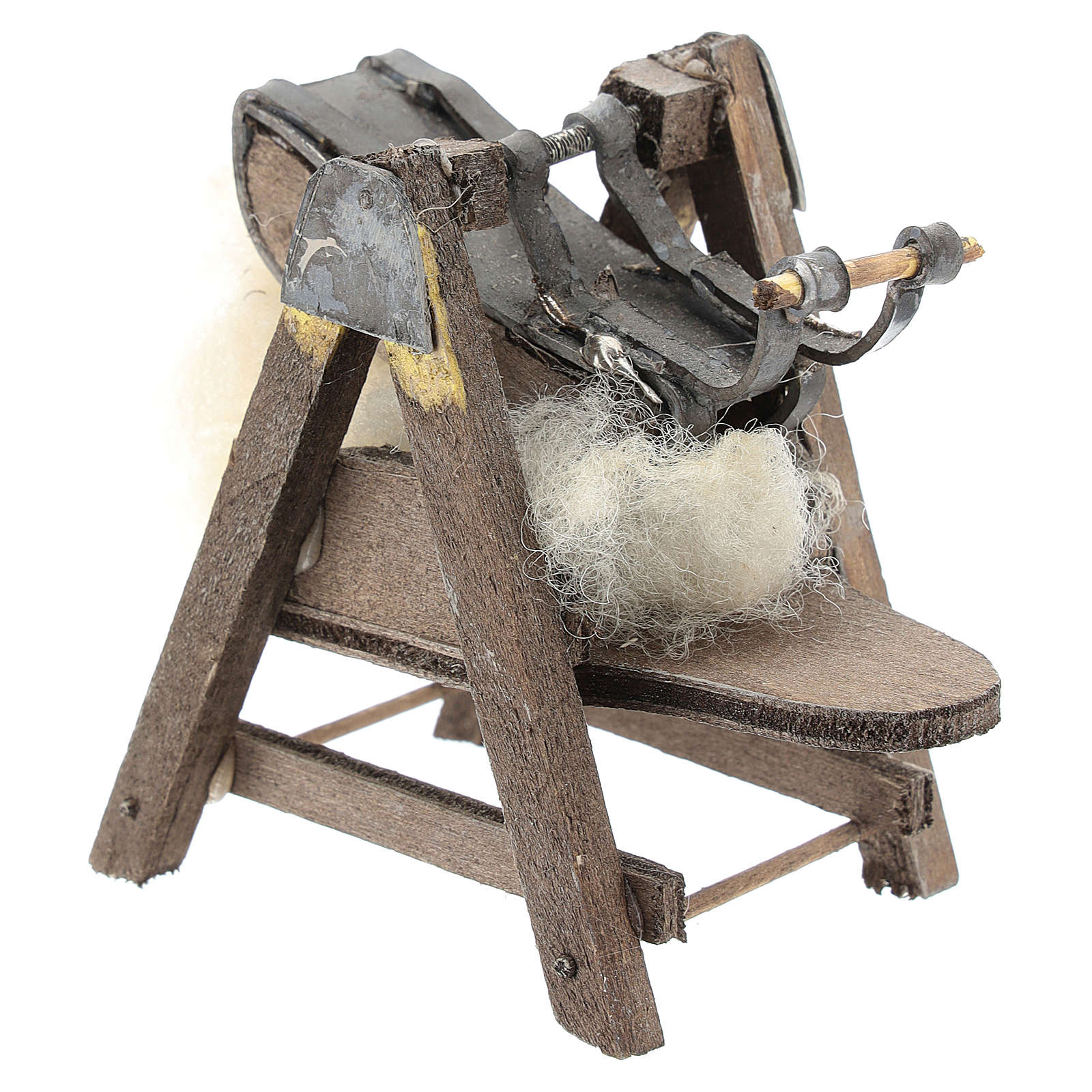 Máquina para lana para belén napolitano de 6-8 cm 4
