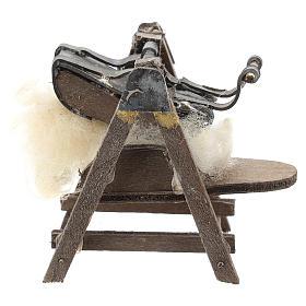 Máquina para lana para belén napolitano de 6-8 cm s1