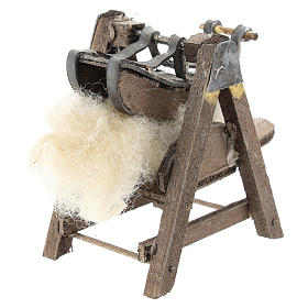 Máquina para lana para belén napolitano de 6-8 cm s3