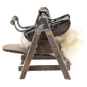 Máquina para lana para belén napolitano de 6-8 cm s4