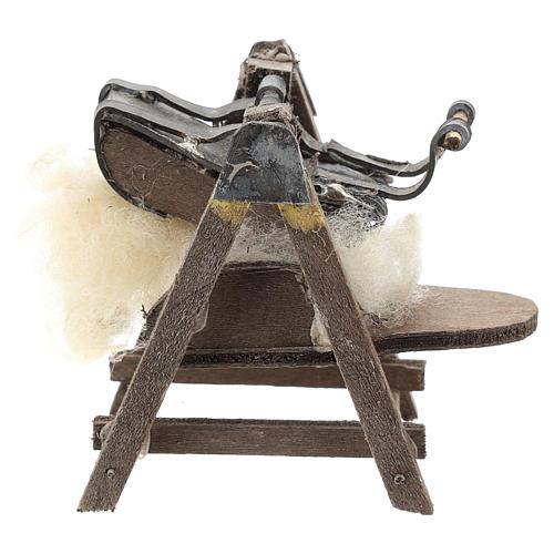 Máquina para lana para belén napolitano de 6-8 cm 1