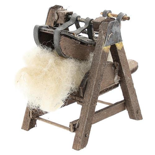 Máquina para lana para belén napolitano de 6-8 cm 3