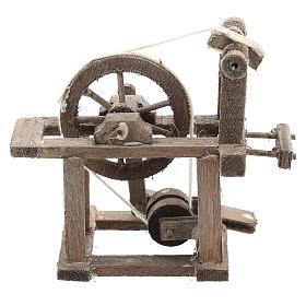 Spinning wheel for Neapolitan Nativity Scene of 6-8 cm s4