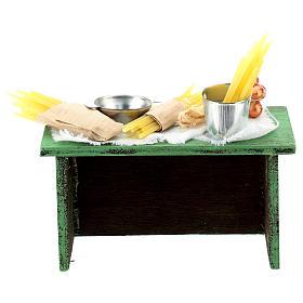 Mostrador vendedor pasta para belén napolitano de 6-8 cm s4