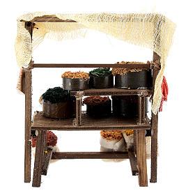 Mostrador mercado oriental para belén napolitano de 6-8 cm s4