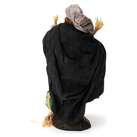 Uomo con angurie per presepe napoletano di 8 cm s5
