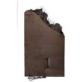 Borgo per presepe 85x50x50 cm in stile napoletano del 700 s4