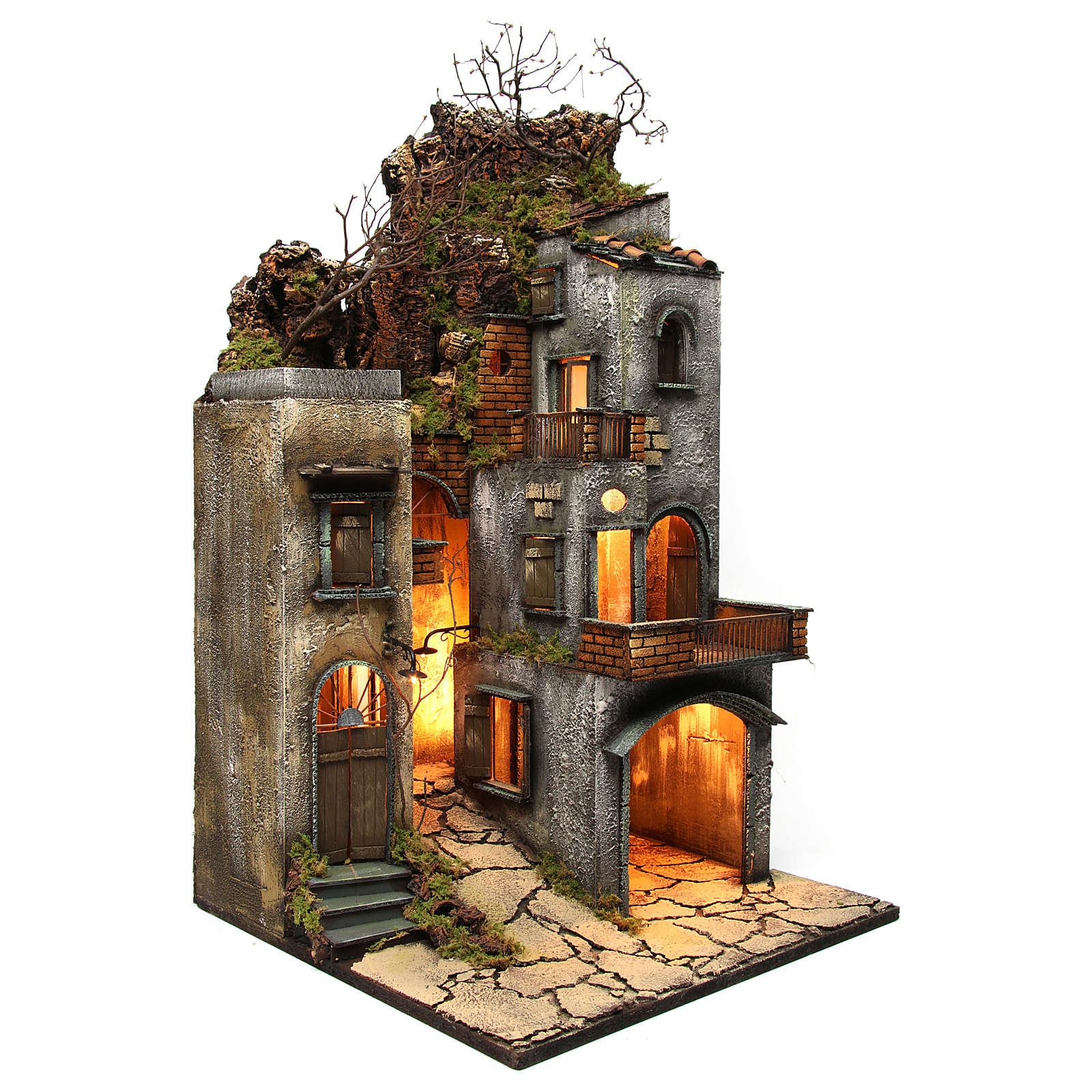 Farmhouse for Nativity Scene 87x50x51cm 4