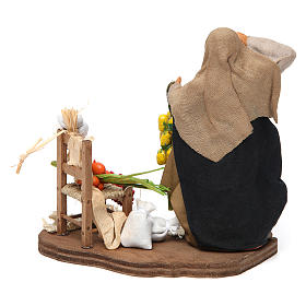 Fruit and Vegetable Vendor for Neapolitan nativity 12 cm s4