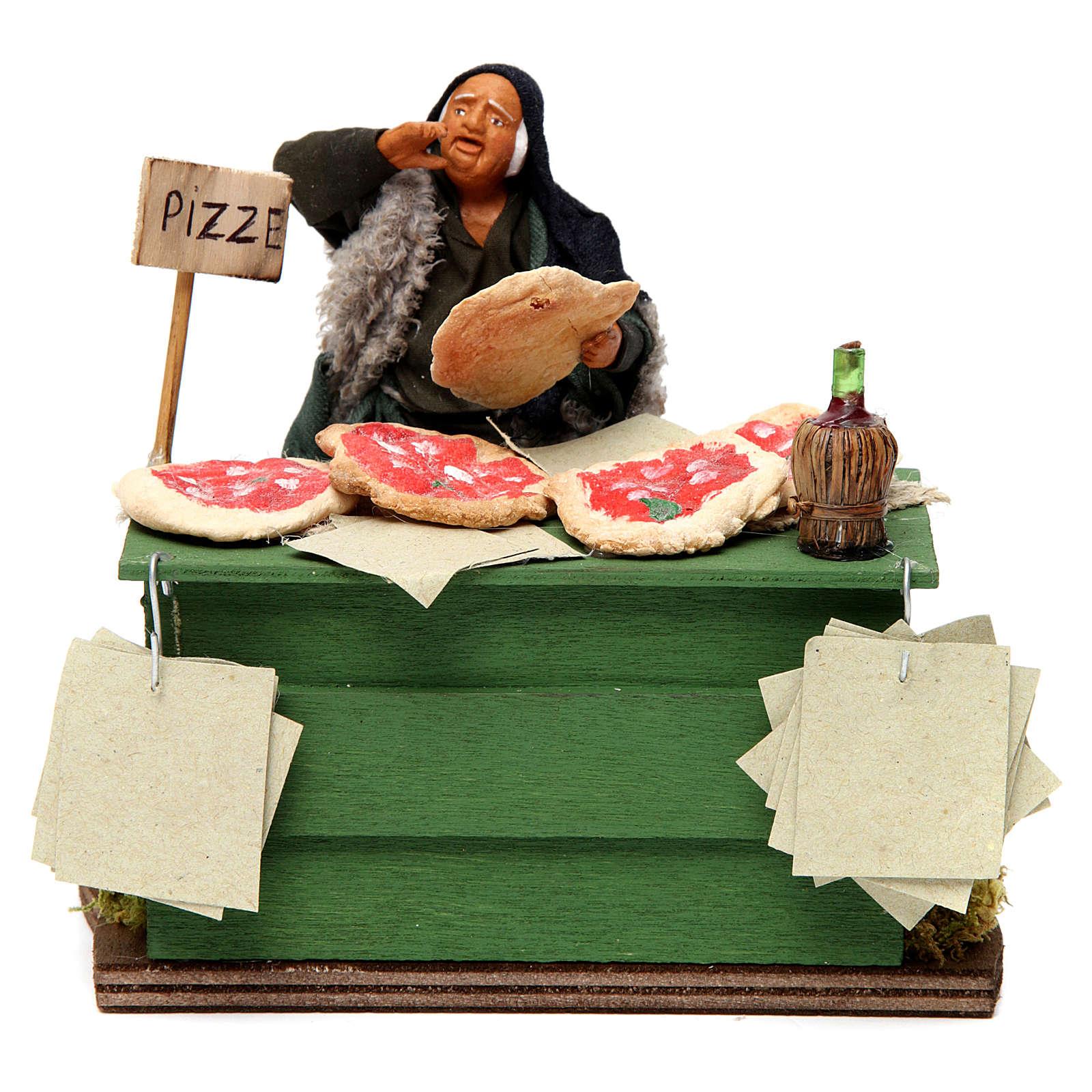 Pizza maker Neapolitan Nativity Scene 12 cm 4