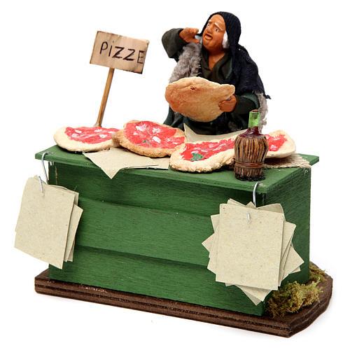 Pizza maker Neapolitan Nativity Scene 12 cm 2