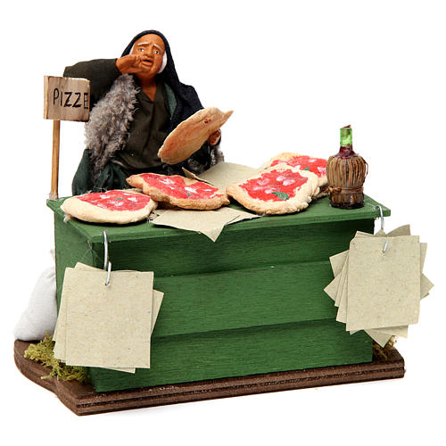 Pizza maker Neapolitan Nativity Scene 12 cm 3