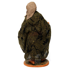Old Man with Blanket for 30 cm Neapolitan nativity s4