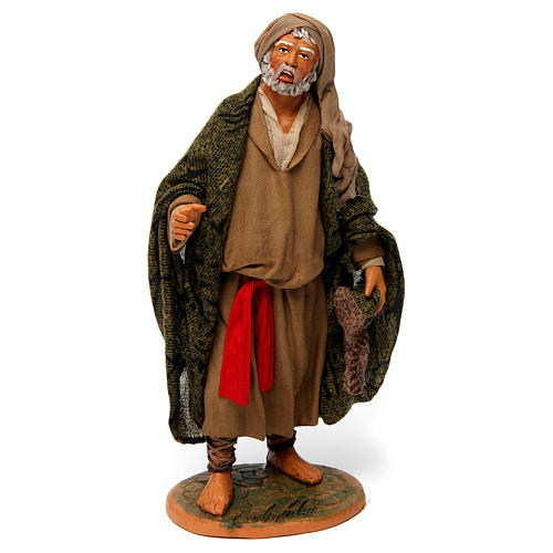 Old Man with Blanket for 30 cm Neapolitan nativity 1