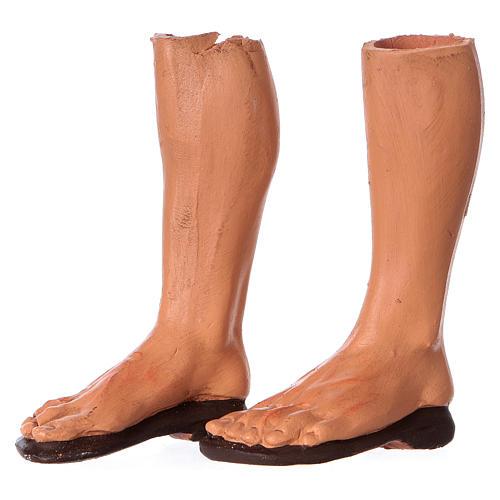 Testa mani piedi presepe S. Giuseppe 35 cm  5
