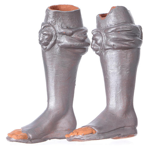 Testa, mani, piedi occhi vetro Magio ginocchio 35 cm 5