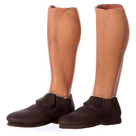 Mani testa piedi terracotta Pifferaio 35 cm s5
