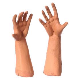 Testa mani piedi 35 cm Uomo senza capelli s4