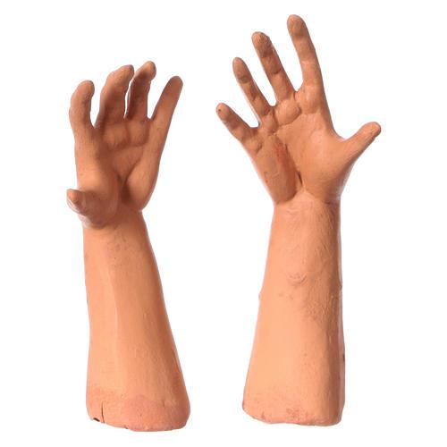 Testa mani piedi 35 cm Uomo senza capelli 4