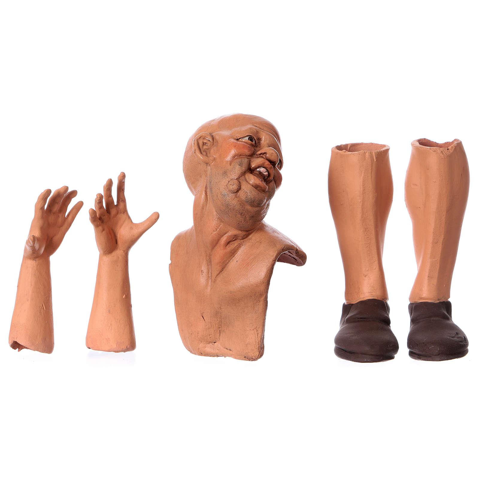 Teste mani e piedi per pastore calvo 35 cm 4