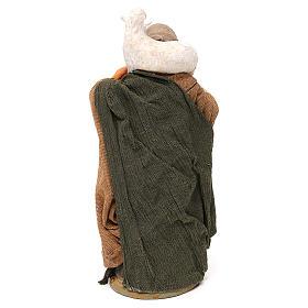 STOCK Donna vestita con pecora terracotta 18 cm Presepe Napoletano s5