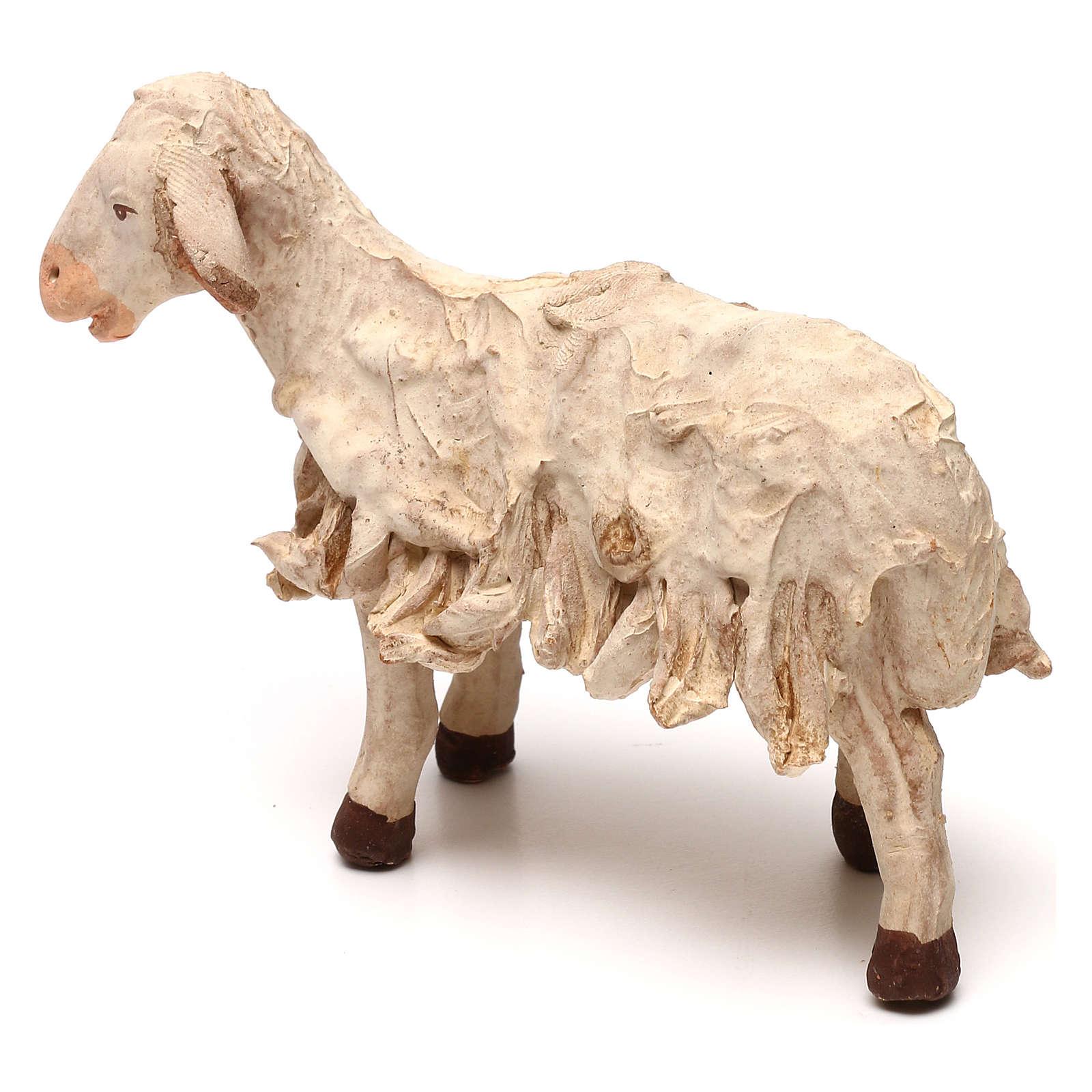 STOCK Mouton terre cuite 18 cm crèche napolitaine 4