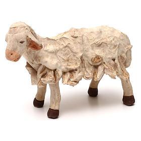 STOCK Mouton terre cuite 18 cm crèche napolitaine s1