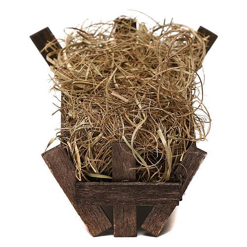 STOCK Manger for Baby Jesus, Neapolitan Nativity scene 20 cm 2