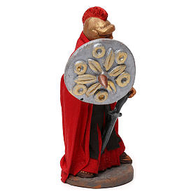STOCK Soldato Romano con spada in terracotta di 10 cm presepe napoletano s3