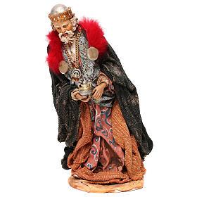STOCK Serie Reyes Magos vestidos extra de terracota cm 35 belén napolitano s5