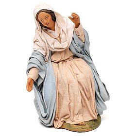 STOCK Madonna terracotta presepe napoletano 30 cm s1
