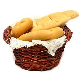 Bread basket, Neapolitan Nativity scene 24 cm s2
