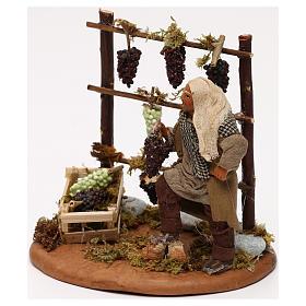 Man with vines, Neapolitan Nativity scene 10 cm s2