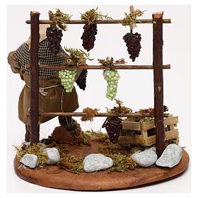 Man with vines, Neapolitan Nativity scene 10 cm s4