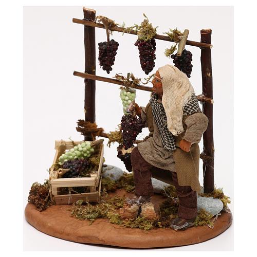Man with vines, Neapolitan Nativity scene 10 cm 2