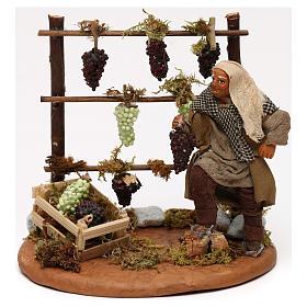 Viñedo con viticultor belén napolitano 10 cm s1