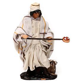 Neapolitan Nativity scene, pizza maker 12 cm s1