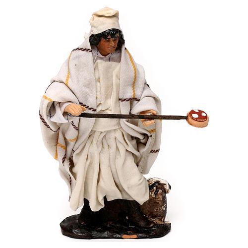 Neapolitan Nativity scene, pizza maker 12 cm 1