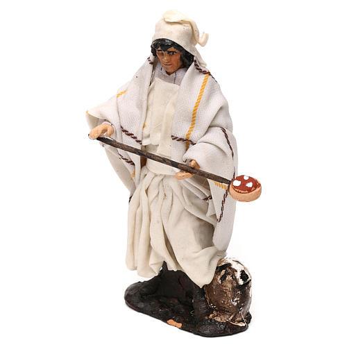 Neapolitan Nativity scene, pizza maker 12 cm 2