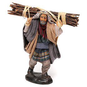 Neapolitan Nativity scene, woodcutter 12 cm s1