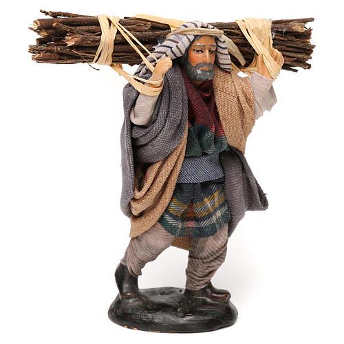 Neapolitan Nativity scene, woodcutter 12 cm 2