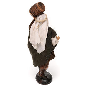 Neapolitan Nativity scene, man with barrel 12 cm s3