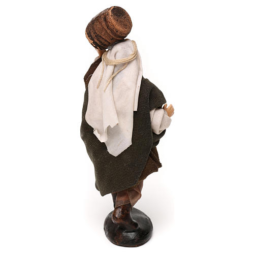 Neapolitan Nativity scene, man with barrel 12 cm 3