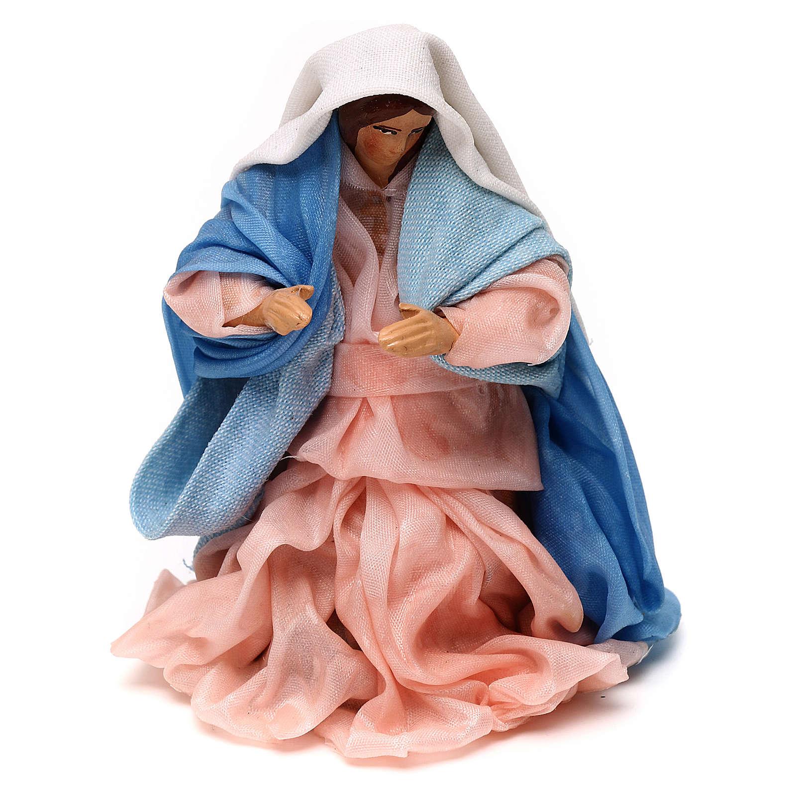 Neapolitan Nativity scene, Virgin Mary 12 cm 4
