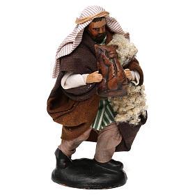 Neapolitan Nativity scene, bagpiper 12 cm s2