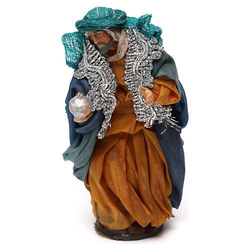 Neapolitan Nativity scene, fair-skinned King 12 cm 1