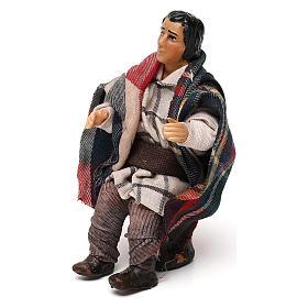 Neapolitan Nativity scene, sitting man 12 cm s2